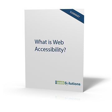 Web Accessibility Executive Summary